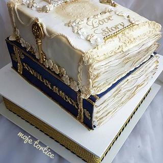 3d wedding cake - Cake by My little cakes