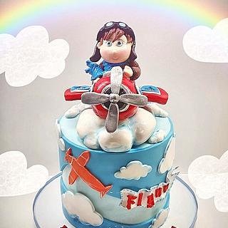 Airplan cake