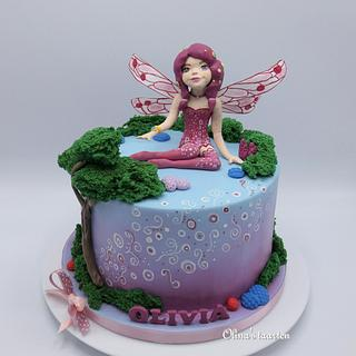 Mia and me  - Cake by Olina Wolfs