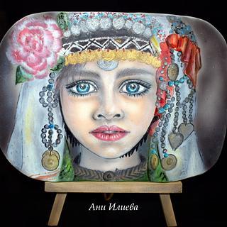 Bulgarian girl - Cake by aniilievacakes