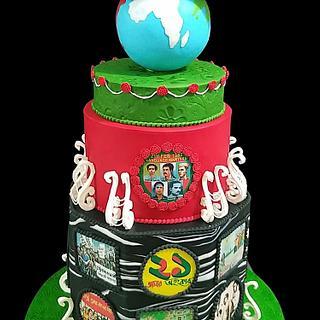 Shahid Minar Cake