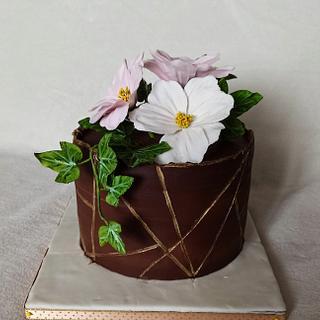 Cake with flowers - Cake by Anka