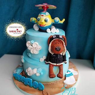 Cute toys cake