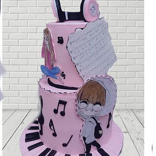 Music cake - Cake by Emy99omar