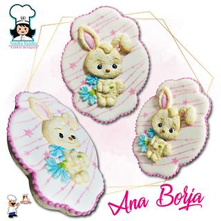 Bunny  - Cake by NanitaPachita_AnaBorja