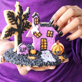 Halloween 3d cookies   - Cake by CakeBake BD