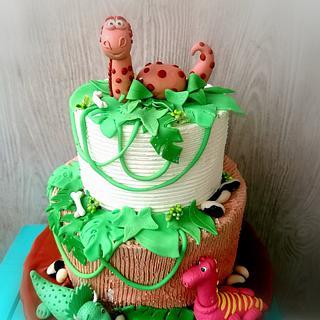 Dinosaur cake - Cake by Tsanko Yurukov