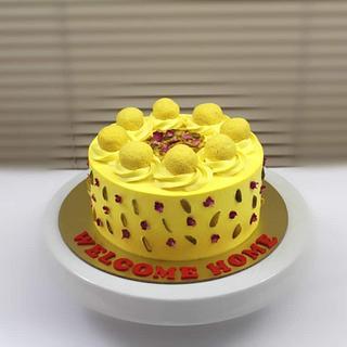 Rasamalai Cake