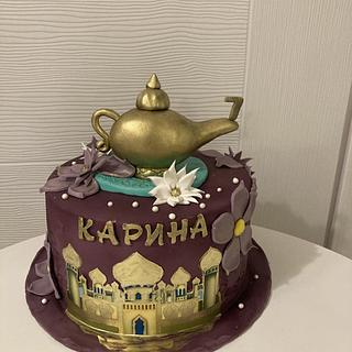 Arabian nights cake
