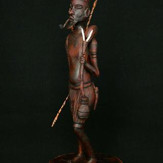 African hunter - African Pride Collaboration  - Cake by Olina Wolfs