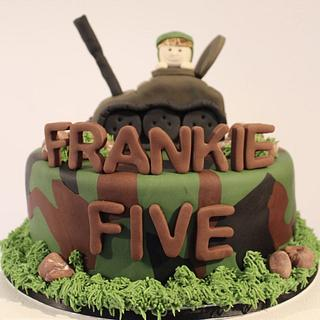 Army Cake - Cake by Sugar by Rachel