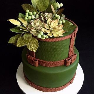 Greenery - Cake by Carol Pato
