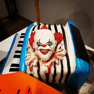 Birthdaycake -IT say hello
