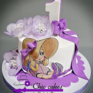 1st birthday cake - Cake by Radmila