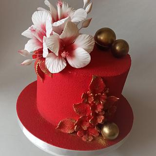 Birthday cake - Cake by Jitkap