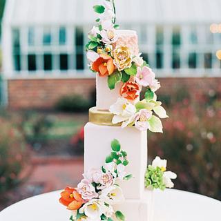Fine Art Garden Party - Cake by Artsy Cakesy