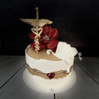 Medical doctor  - Cake by 59 sweets