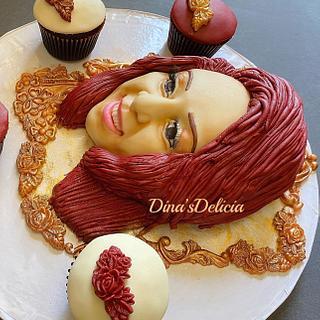 Sculpture face cake  - Cake by Dinadiab