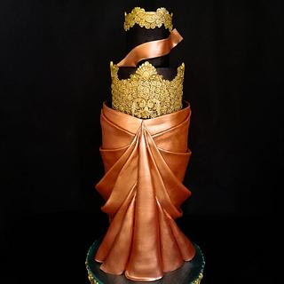 Indian Coture Ethnic Wear A Cake Collaboration