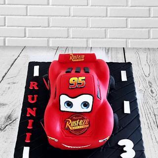Cars - Cake by Emy99omar