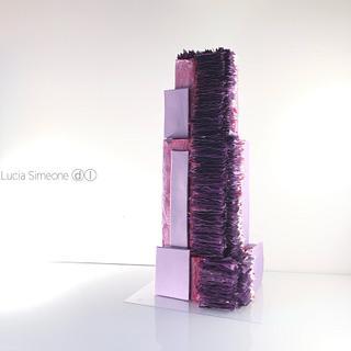Purple - Cake by Lucia Simeone