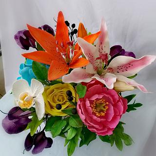 Shugar flowers