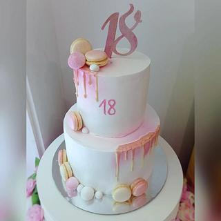 18th birthday cake - Cake by Dijana