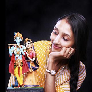 Radha Krishna by THE FROST GODDESS - Cake by thefrostgoddess