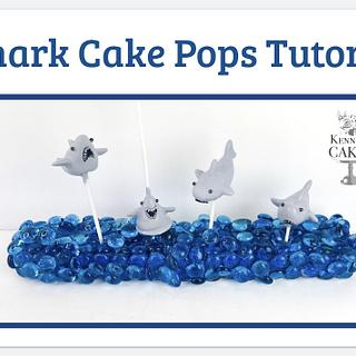 Shark Cake Pops Tutorial - Cake by Jenny Kennedy Jenny's Haute Cakes