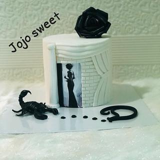 scorpion 🦂 cake/ fantasy cake