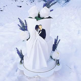 Wedding cake - Cake by MRcakes