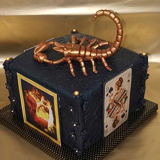 Cake with Scorpion