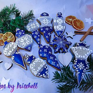 Blue cookies...