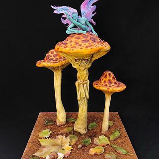 The mushrooms by Victoria Zagorodnya