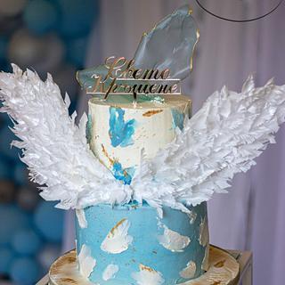 Swiss Merengue buttercream - Cake by Kremena Boteva