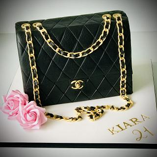 Chanel 21st Birthday cake