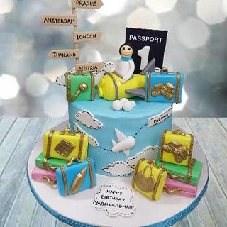 Love for Travel cake
