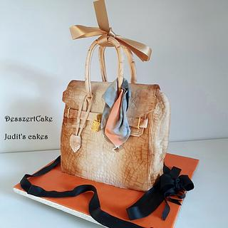 Hermès birkin bag cake