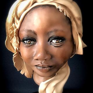 Busto beautifull black woman