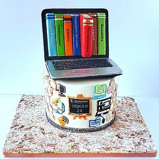 E-learning cake