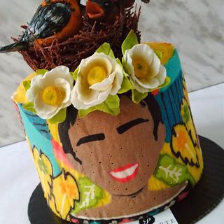 Flexible print cake