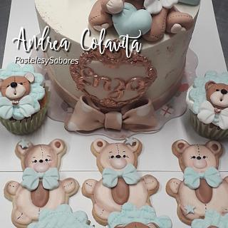 Baby shower cake  - Cake by Andrea Colavita