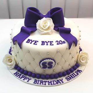 30th Birthday Theme Cake - Cake by Shilpa Kerkar
