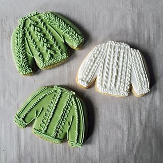 sweater cookies <3