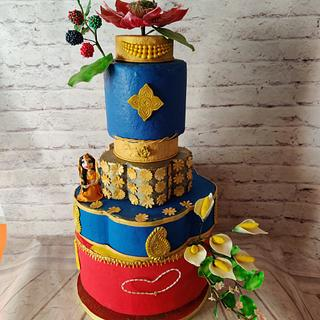 Couture Cake  - Cake by Dr RB.Sudha