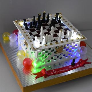 chess cake - Cake by OxanaS