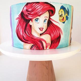 Disney princesses cake  - Cake by Gimena
