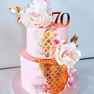 Pink - Cake by alenascakes