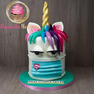 UNICORNIO  - Cake by Danecita Medina