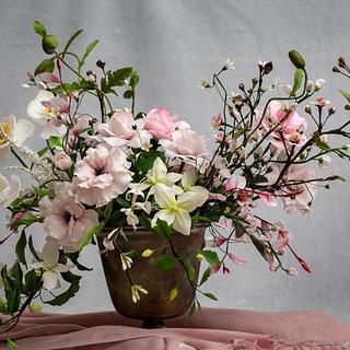 Flower inspiration bouquet 🥰 - Cake by Erika Amelia Ersek
